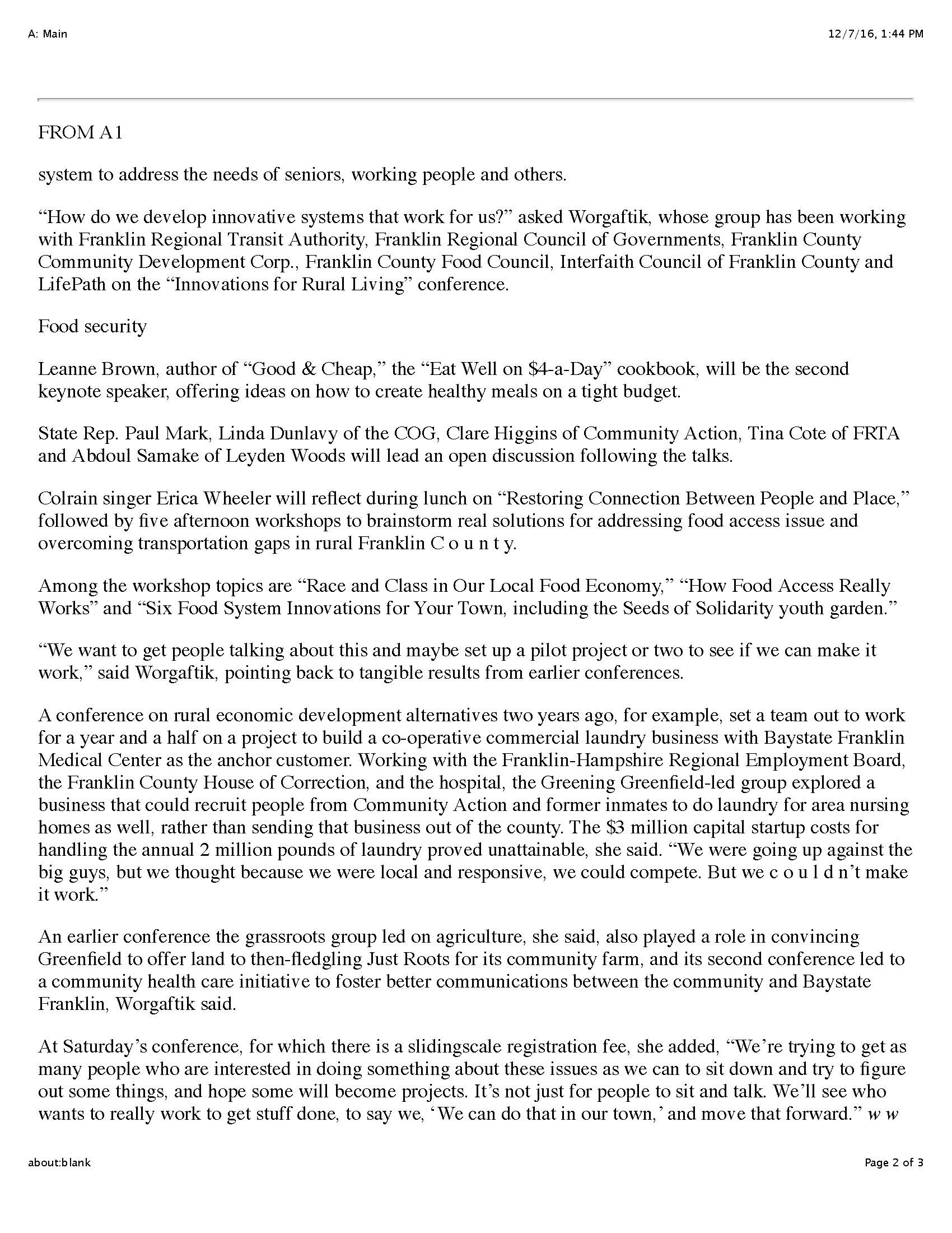 2016 11.15 Rural Living Conf fullStory Page 2